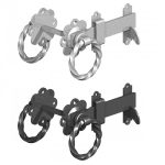 Black-or-Galvanised-Twisted-Ring-Latch